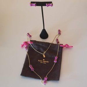*HOST PICK* Kate Spade necklace and earrings